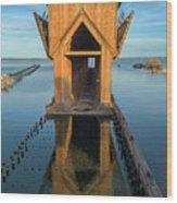 Ore Dock Too Wood Print