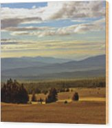 Oregon - Land Of The Setting Sun Wood Print