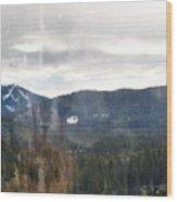 Oregon Cascade Range Landscape Wood Print