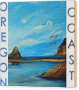 Oregon Coast Graphics Wood Print