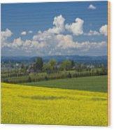 Oregon Countryside Wood Print