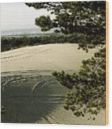 Oregon Dunes 3 Wood Print by Eike Kistenmacher