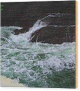 Oregon Ocean Pool Wood Print