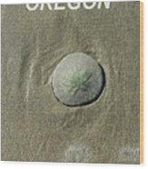 Oregon Sand Dollar Wood Print