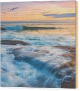 Oregon's Gold Coast Wood Print
