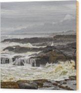 Oregon's Rugged Coast Wood Print