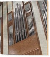 Organ Pipes Wood Print