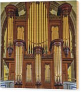 Organ Pipes Wood Print