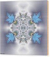 Organic Fractal Wood Print