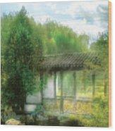 Orient - Bridge - Chinese Bridge  Wood Print