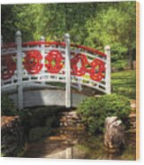 Orient - Bridge - Tranquility Wood Print