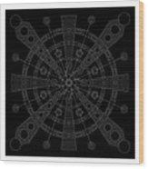 Origin Inverse Wood Print
