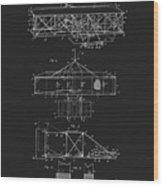 Original 1906 Wright Brothers Full Patent Wood Print