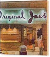 Original Joe's Dynamic  Wood Print