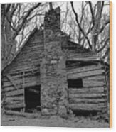 Original Old Home Wood Print