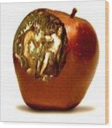 Original Sin Wood Print