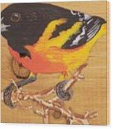 Oriole 4 Wood Print