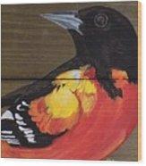 Oriole 6 Wood Print