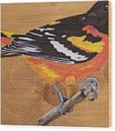 Oriole 7 Wood Print