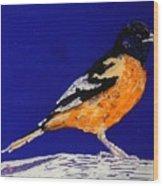Oriole Wood Print