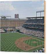 Orioles Park. Kansas City Royals Wood Print by Brian Gordon Green