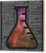 Orion Alchemy Vial Wood Print