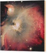 Orion Nebula Redux Wood Print