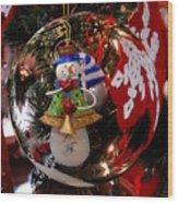 Ornament 1 Wood Print by Joyce StJames
