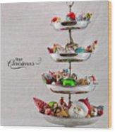 Ornament Compote Wood Print