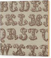 Ornamental Wood Print