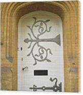 Ornate Door 1 Wood Print
