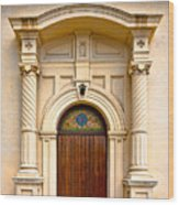 Ornate Entrance Wood Print by Christopher Holmes