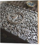 Ornate Wooden Chest Wood Print