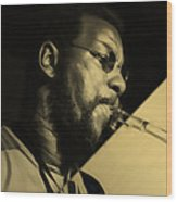 Ornette Coleman Collection Wood Print