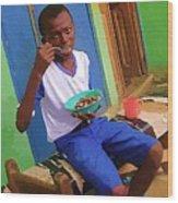 Orphan Boy Wood Print