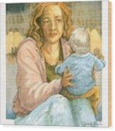 Orphans And Widows Wood Print