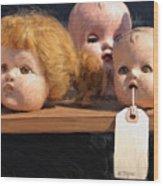 Orphans Wood Print
