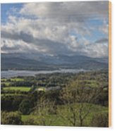Orrest Head And Windermere Wood Print