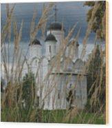 Orthodox Church In Mikulino Wood Print