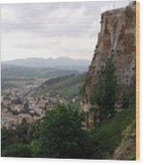 Orvieto Italy Wood Print