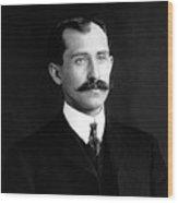 Orville Wright Portrait - 1905 Wood Print