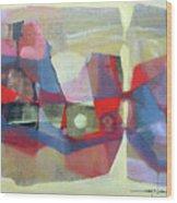 Os1957bo003 Abstract Landscape Potosi 23.75x18.25 Wood Print