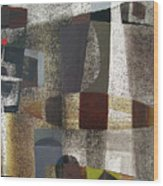 Os1957bo016 Abstract Landscape Of Potosi Bolivia 20.3 X 28.9 Wood Print