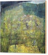 Os1959ar015ba Abstract Landscape Of Potosi Bolivia 20.9 X 21.9 Wood Print