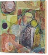 Os1961dc002bo Abstract Landscape Potosi 17x22.25 Wood Print