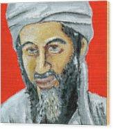 Osama Wood Print