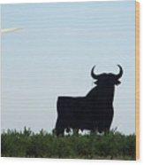 Osborne Bull 3 Wood Print