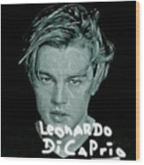 Oscar Goes To Leonardo Di Caprio Wood Print