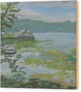 Oseetah Lake Cove Wood Print