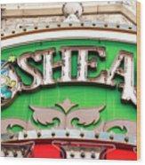 O'sheas Las Vegas Wood Print